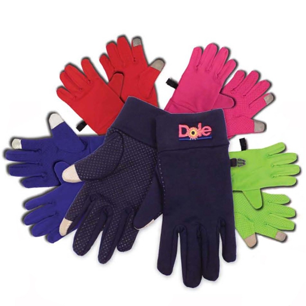 Personalized Touchscreen Spandex Gloves
