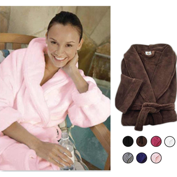 Custom Luxury Plush Robe