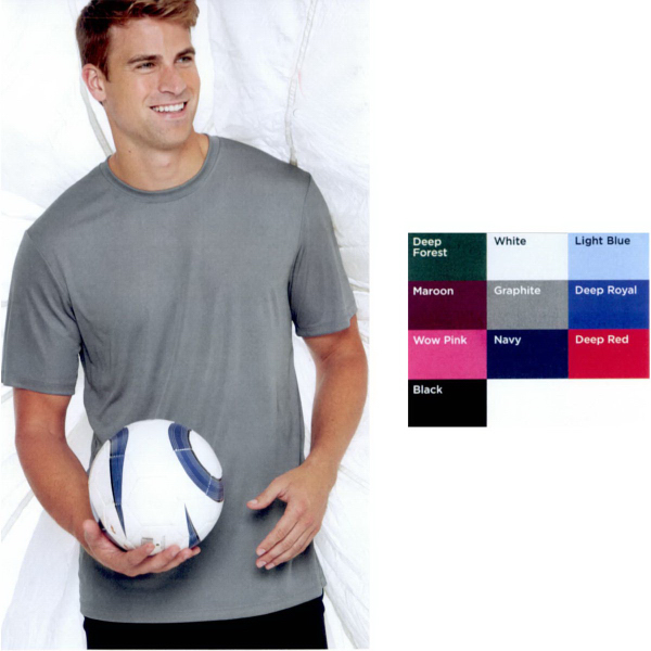 Printed Hanes (R) Cool Dri (R) Short Sleeve Performance T-Shirt