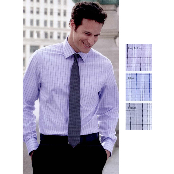 Personalized Van Heusen Pinpoint Suiting Check Shirt