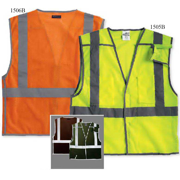 Imprinted ML Kishigo Brilliant Series Economy Breakaway Vest
