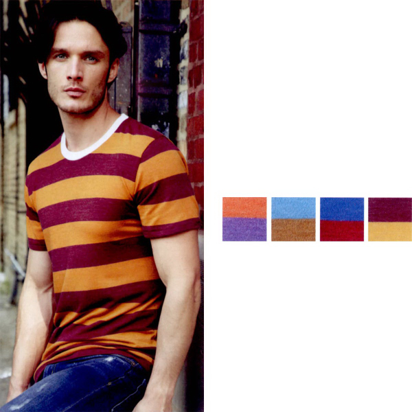 Promotional Alternative(R) Meegs Ugly Stripe Short Sleeve T-Shirt