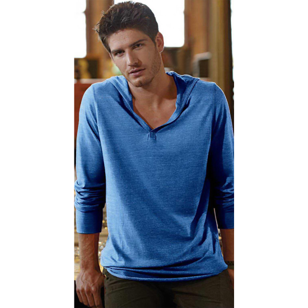 Personalized Alternative(R) Unisex Eco-Jersey Long Sleeve Hooded Pullover