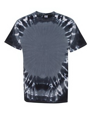 Customized Tie-Dyed Bullseye T-shirt