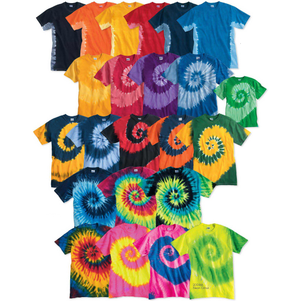 Personalized Tie-Dyed Tide T-Shirt