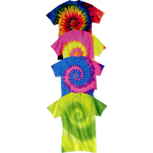Customized Tie Dyed Wave T-Shirt