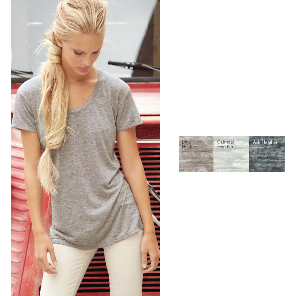 Imprinted Alternative(R) Ladies The Pony Burnout T-Shirt