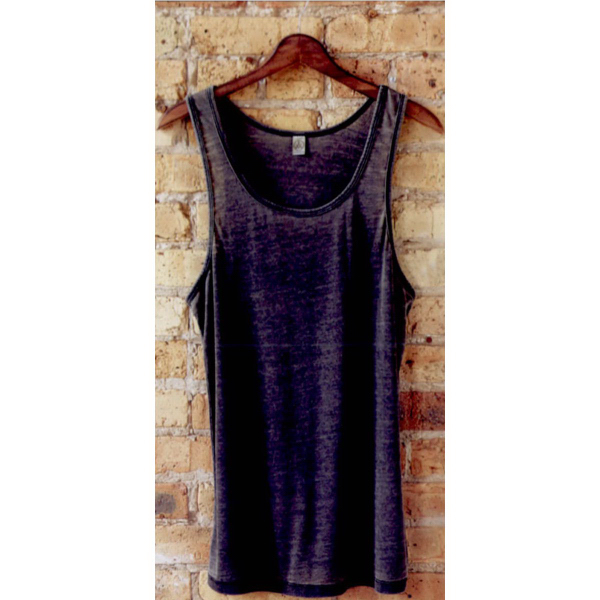 Imprinted Alternative(R) 19 Seventies burnout shaggy tank top