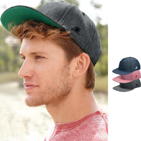 Personalized Original Chuck (TM) Chambray Flat Bill Snapback Cap