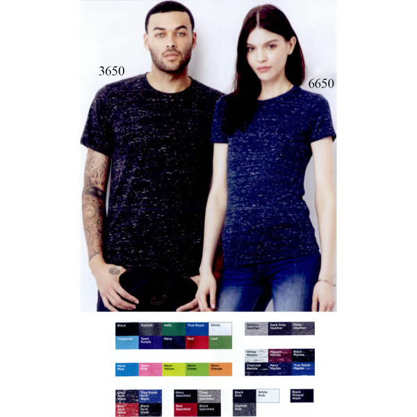 Imprinted Bella + Canvas Unisex Polyester/Cotton T-shirt