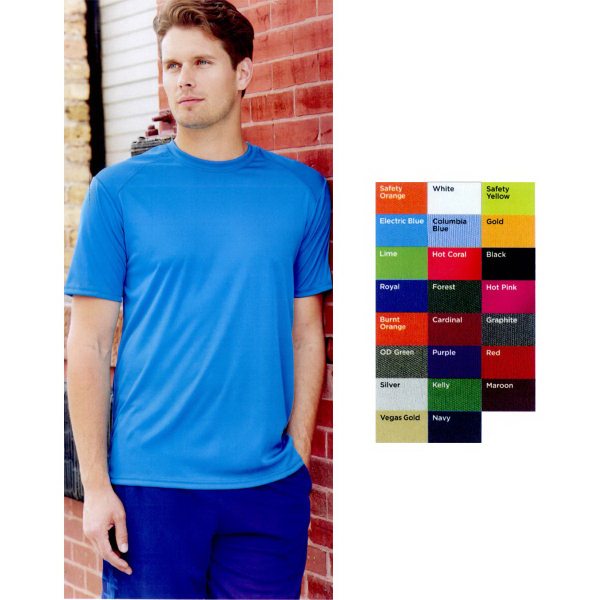 Promotional Badger B-Dry Core T-shirt with Sport Shoulders