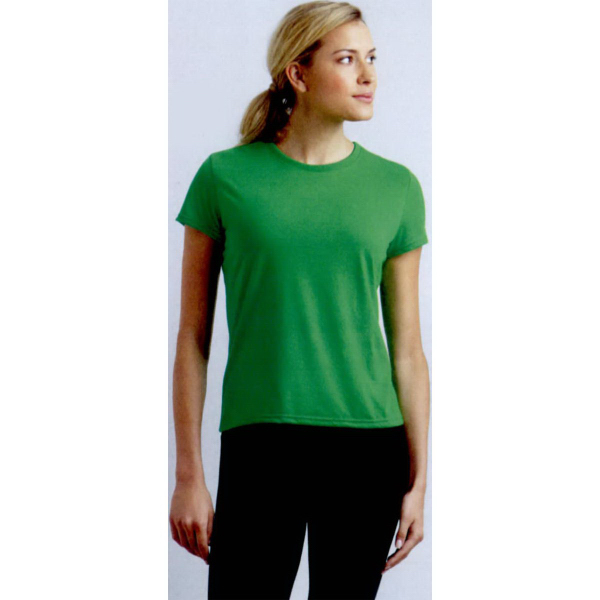 Imprinted Gildan (R) Performance ladies short sleeve T-shirt