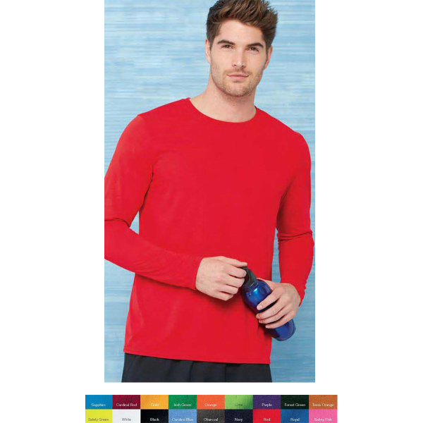 Imprinted Gildan (R) Performance long sleeve T-shirt