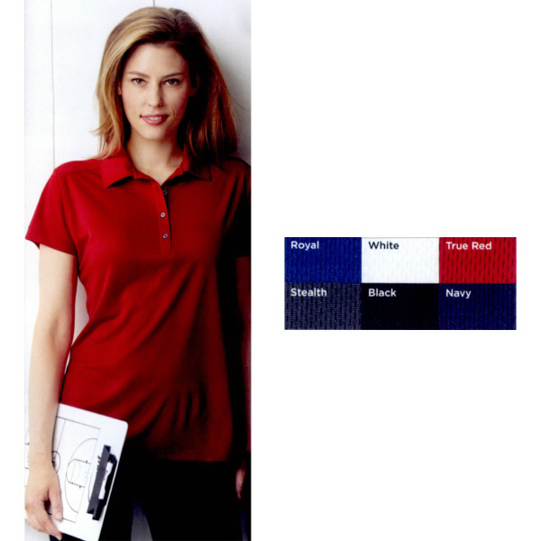 Personalized Jerzees (R) Ladies sport micro mesh sport shirt