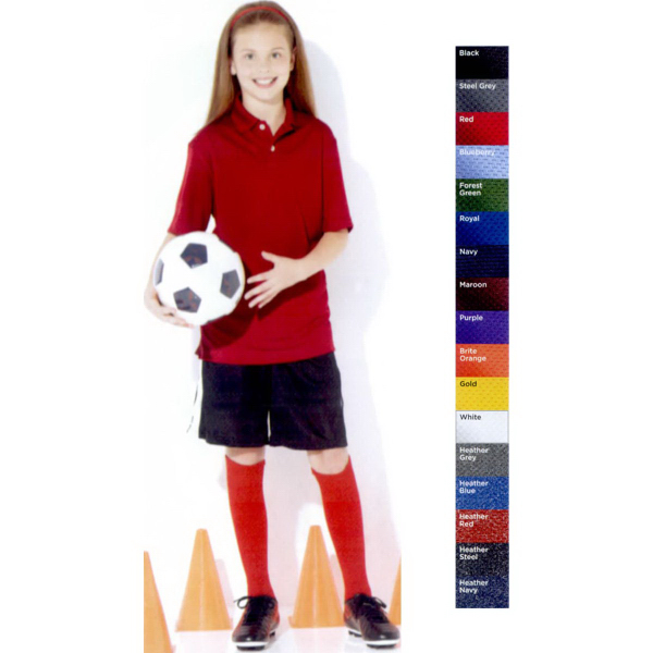 Promotional Featherlite (R) Youth Moisture Free Mesh Sport Shirt