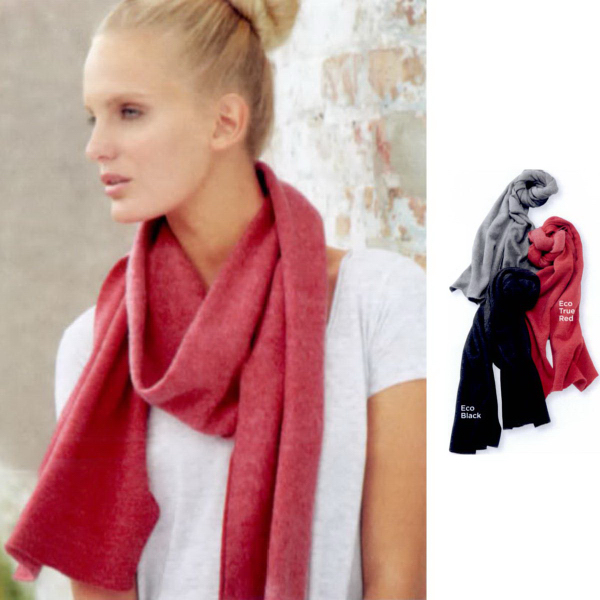 Custom Alternative Eco Fleece Slim Scarf