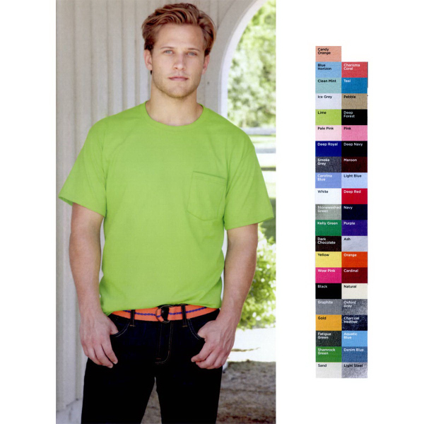 Promotional Hanes (R) Beefy-T (R)  T-Shirt with Pocket