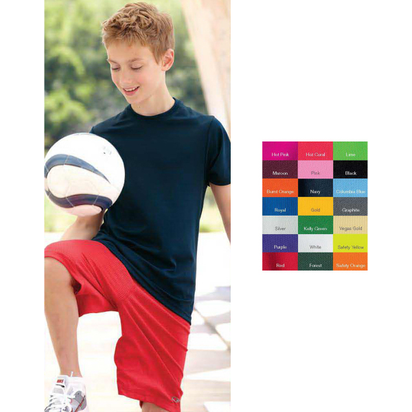 Imprinted C2 Sport Performance Short Sleeve Youth T-Shirt