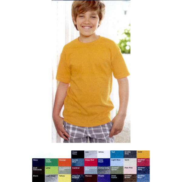 Customized Hanes (R) Youth ComfortBlend EcoSmart (R) T-shirt