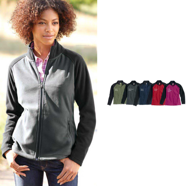 Personalized Colorado Clothing Ladies Steamboat Microfleece Jacket