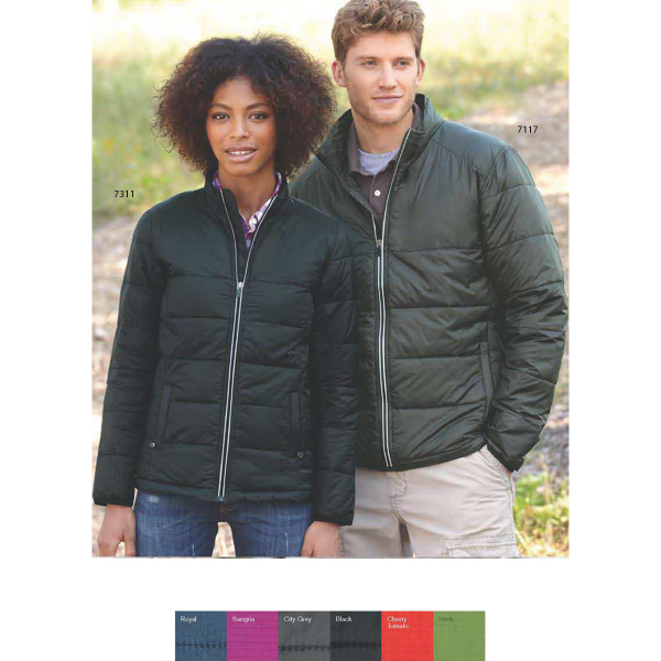 Customized Colorado Clothing Ladies Packable Puffer Jacket
