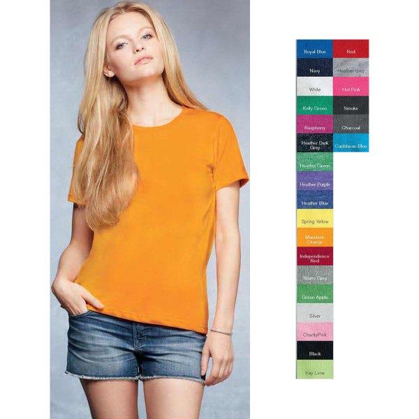Promotional Anvil (R) Ladies' Ringspun Fashion Fit T-Shirt