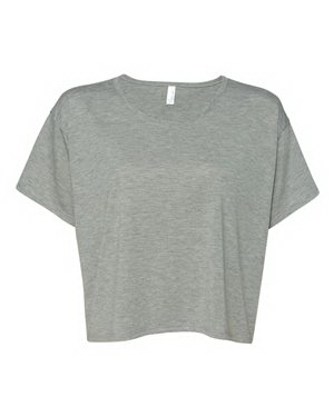 Promotional Bella + Canvas Ladies' Crewneck Boxy Cropped T-shirt