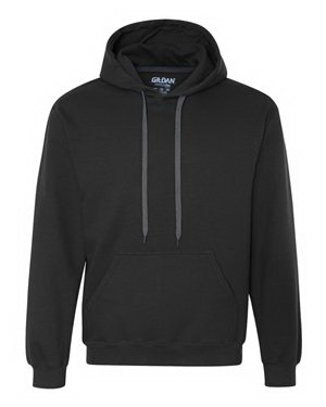 Customized Gildan (R) premium cotton hooded pullover sweatshirt
