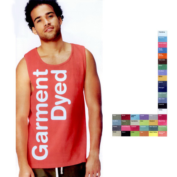 Personalized Comfort Colors Pigment Dyed Tank Top