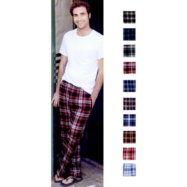 Printed Boxercraft Flannel Pants with Pocket