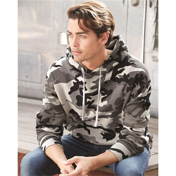 Printed Independent Trading Co. Hooded Pullover Sweatshirt
