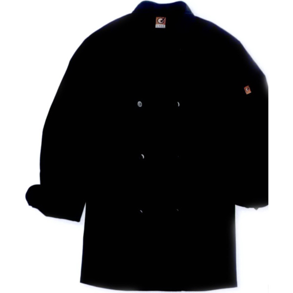 Personalized Chef Designs Black Traditional Chef Coat