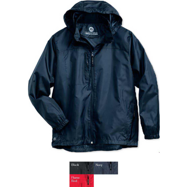 Imprinted Stormtech DWR Squall Hooded Packable Jacket