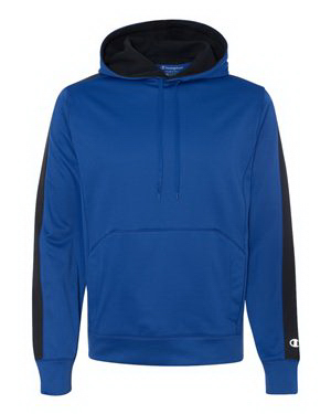 Personalized Champion (R) Colorblock Performance Hooded Sweatshirt