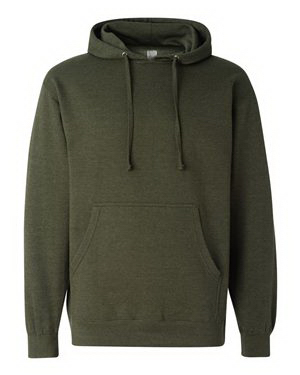 Custom Independent Trading Co. Midweight Hooded Sweatshirt