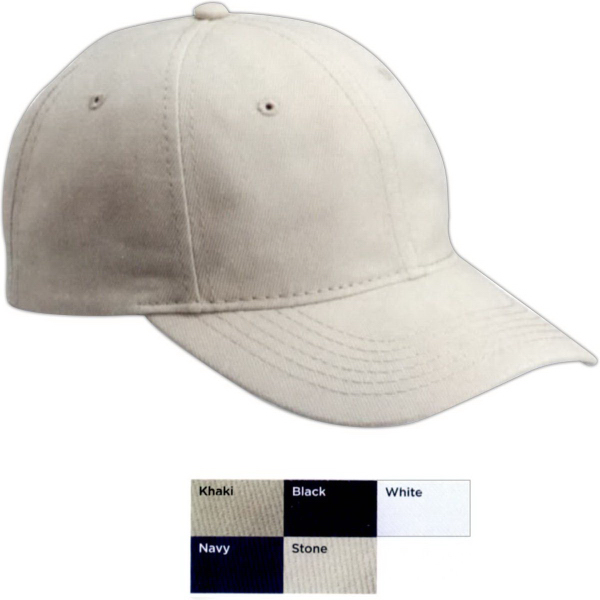 Custom Valucap Unstructured Heavy Brushed Twill Cap