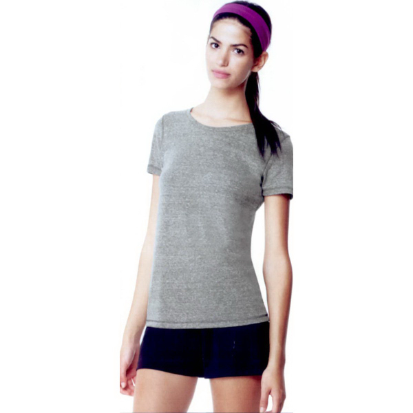 Imprinted ALO (TM) ladies triblend performance short sleeve tee