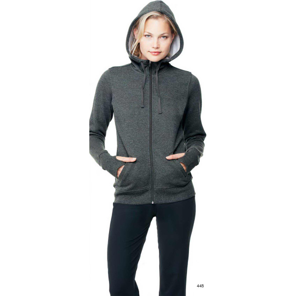 Promotional ALO (TM) Ladies performance fleece hooded pullover
