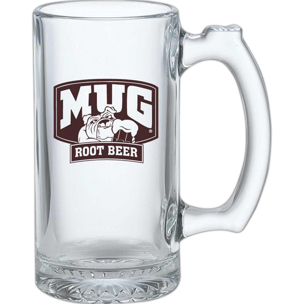 Printed 12 oz Glass Mug