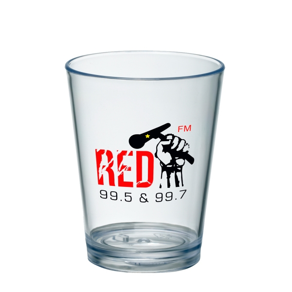 Customized 4 oz Mini Pint Taster Glass