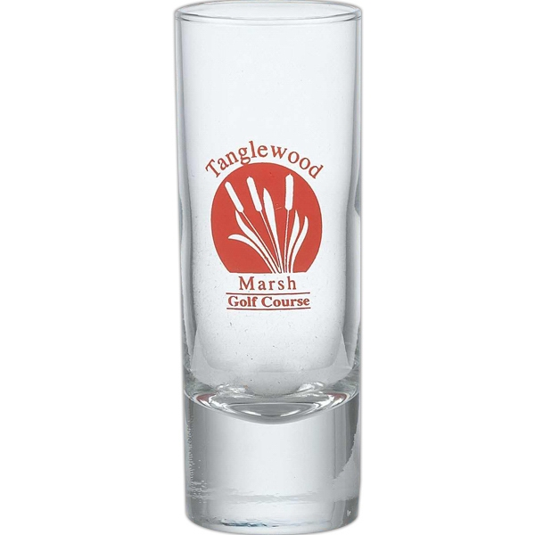 Printed 2.5 oz Tall Shot Glass