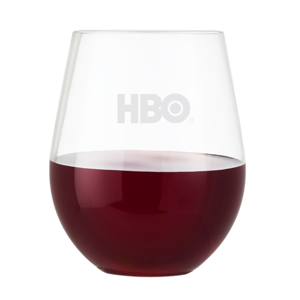 Imprinted 20 oz Stemless Wine Glass