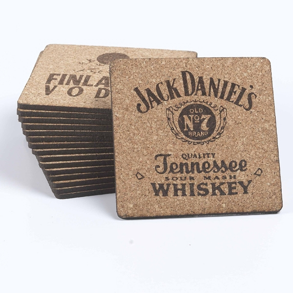 "Custom 3 1/2"" Square Coaster"