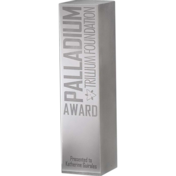 Custom Signature Series Solid Aluminum Award