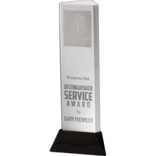Imprinted Signature Series Pillar of Power Award