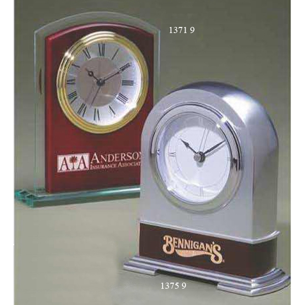 Personalized Metal Arch Clock