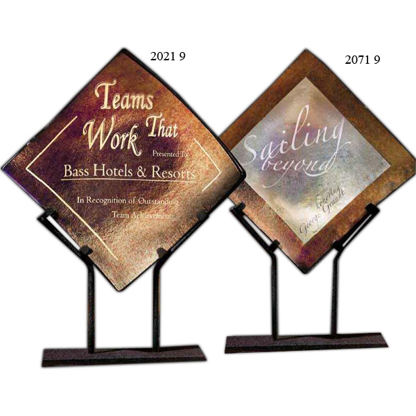 Promotional Bronze Iridescence Award