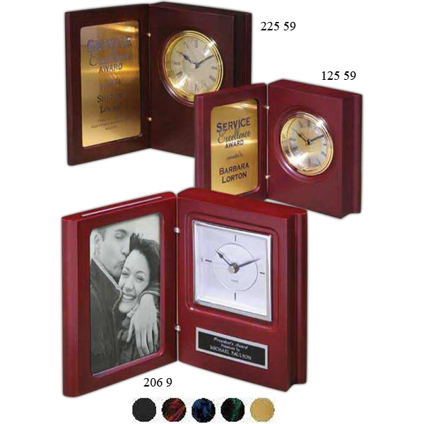 Imprinted Book Clock