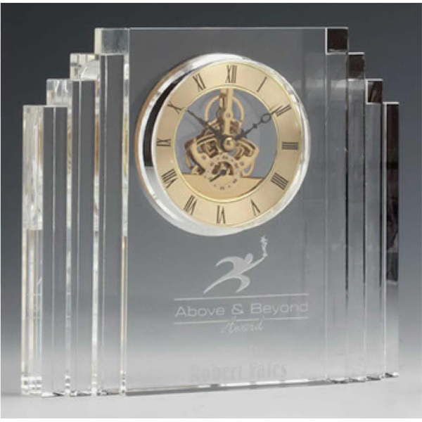 Promotional Crystal Mantel Clock