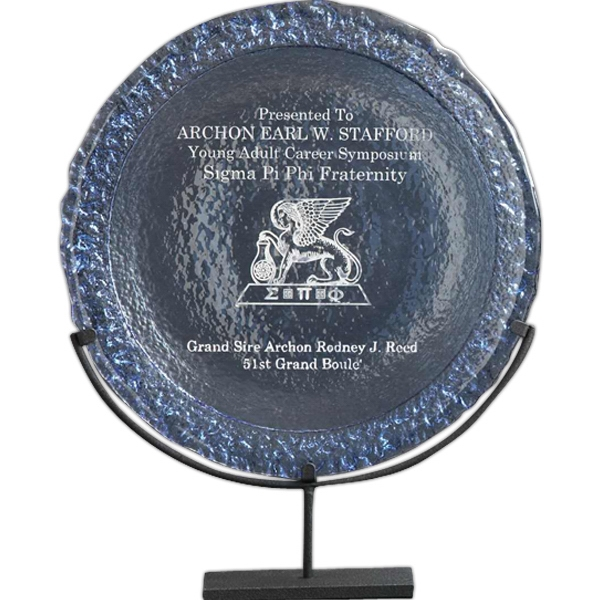 Custom De Soto Plate Glass Award
